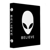 Alien Believe Binder by Alienwear Apparel