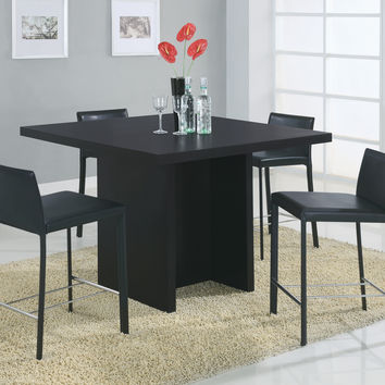 """Dining Table - 48""""X 48"""" / Black Counter Height"""