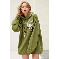 Puma Rihanna Palace flower embroidery sweater
