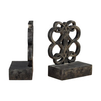 Bookends In Durand Bronze Finsih