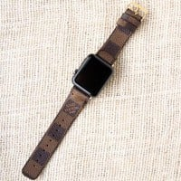 LV Apple Watch Band Damier Ebene