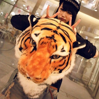 Tiger Backpack Creative Personality Steller Package