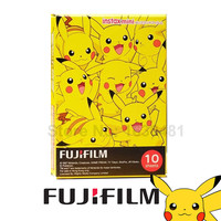 Genuine Fujifilm Fuji Instax Mini 8 Film Pokemon 10 Sheets for Min 8 8 Plus 25 70 90 Camera Share SP-1 SP-2
