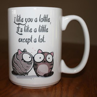 Lottle Cute Creative Cats Mugs Just In Time for Valentines Day