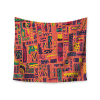 """Akwaflorell """"Squares"""" Wall Tapestry"""