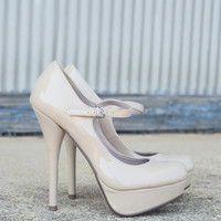 Delicious Zappa-Patent Mary Jane Pump Shoes