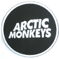 """Arctic Monkeys Embroidered Iron On Badge Patch 2.9"""""""