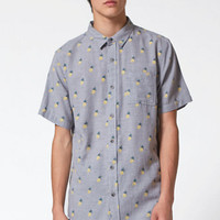On The Byas Ananas Short Sleeve Button Up Shirt at PacSun.com
