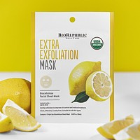 Extra Exfoliation Organic Facial Sheet Mask
