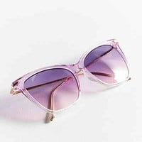 Crystal Gradient Cat-Eye Sunglasses - Urban Outfitters