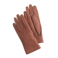 J.Crew Womens Dents Cashmere-Lined Deerskin Gloves