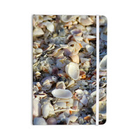 """Philip Brown """"Seashells On The Beach"""" Coral Nature Everything Notebook"""