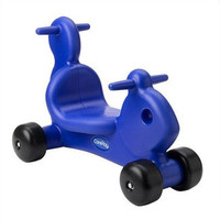 CarePlay Squirrel Push/Scoot Ride-On - Blue - C2001S