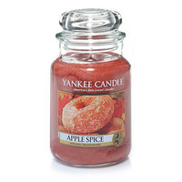 Apple Spice : Large Jar Candles : Yankee Candle