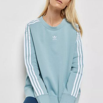ADIDAS ORIGINALS adicolor 3 Stripe Sweatshirt