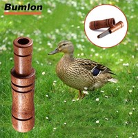 Hunting Decoy Duck Whistle Sound Wood Duck Voice Lure Call Trap Whistle for Hunting HT37-0076
