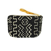 Cosmetic Bag Midnight Mudcloth