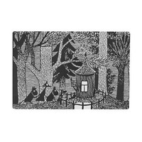 Cottage in the woods cutting board by Opto Design