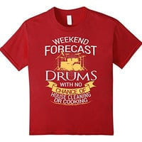 Funny Drums Tshirt For Drummer Drummers
