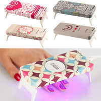 5 Styles Mini 9W DIY Innovation Electric LED Nail Lamp For Drying Nails Gel Shape icure Light Tool