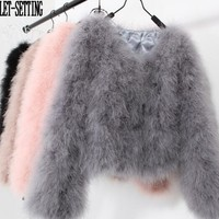 Faux Fur Zippered Jacket
