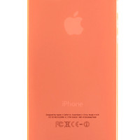 Orange Frosted Transparent Soft Case for iPhone 5 & 5s