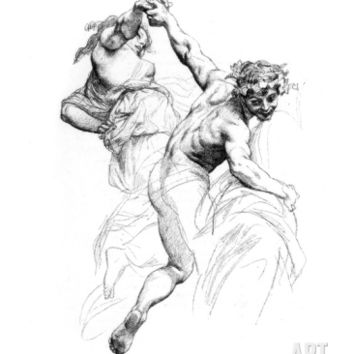 Study for the Triumph of Flora, C1880-1882 Giclee Print by Alexandre Cabanel at Art.com