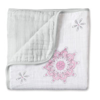 "Aden + Anais- For the Birds ""Medallion"" Dream Blanket"