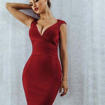 New Women Summer Bodycon Bandage Dress