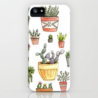 Potted Succulents iPhone & iPod Case by Brooke Weeber | Society6