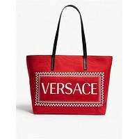 Versace Women's Leather Shoulder Bag Satchel Tote Bags Crossbody 829