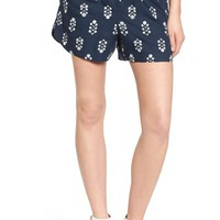 Madewell 'Vinefloral' Drapey Pull-On Shorts | Nordstrom