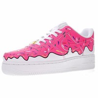 Nike Air Force 1 Low Canvas AF1 Sneaker Ice cream596728-818