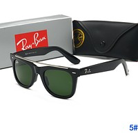 RayBan Ray-Ban Fashion Women Men Popular Sun Shades Eyeglasses Glasses Sunglasses 5#