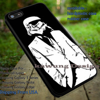 Stormtrooper in Suit iPhone 6s 6 6s+ 5c 5s Cases Samsung Galaxy s5 s6 Edge+ NOTE 5 4 3 #movie #starwars dt