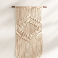 Lydia Macramé Wall Hanging   Urban Outfitters