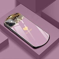 New Style Shiny Oval Mirrored Phone Case For iPhone
