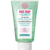 Soap & Glory™ Face Soap and Clarity™ 3-in-1 Daily Detox Vitamin C Facial Wash 150ml