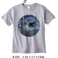 Harry Nights Heather Grey / White Toddler Kids T Shirt Clothes Gift