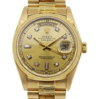 ROLEX DAY DATE 18078 CHAMPAGNE DIAL PRESIDENTIAL WATCH