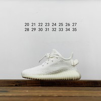 Kuyou Fa1972 Adidas Yeezy 350 Boost Static Refective Kids Shoes Parent-kid Matching Shoes