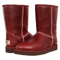 UGG Classic Short Leather Oxblood - Zappos.com Free Shipping BOTH Ways