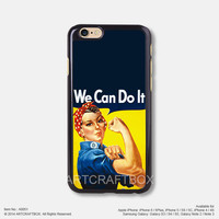 We can do it super woman Free Shipping iPhone 6 6 Plus case iPhone 5s case iPhone 5C case iPhone 4 4S case Samsung galaxy Note 2 Note 3 Note 4 S3 S4 S5 case 051