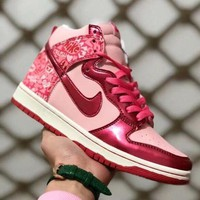 Nike Dunk SB Trending Women Personality High Help Breathable Sneakers Sport Running Shoes I