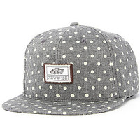 The VANS Blackout Starter Hat in Charcoal Chambray