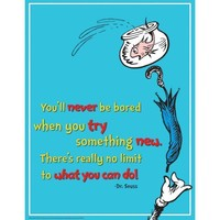 Dr Seuss Try Something New 17 X22