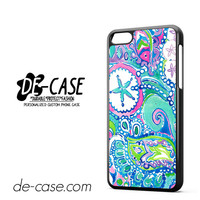 Lily Pulitzer Flower And Fish DEAL-6526 Apple Phonecase Cover For Iphone 5C