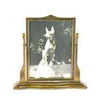 Swinging Picture Frame, Free Standing Picture Frame, Wooden Frame, Art Deco Frame, Swivel Swing Picture Frame, Art Deco Picture