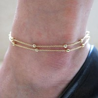 DCCK0OQ Shiny Awesome New Arrival Hot Sale Great Deal Gift Stylish Chain Anklet Accessory Bracelet [8527529031]