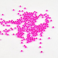Glass Seed Beads - Hot Pink - 10gm - Jewellery, Costume & Craft Supplies by DeeDeeSupplies Also available in Blue Oil Slick and Ruby Red